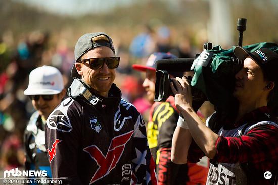 Aaron Gwin gewinnt den Saisonauftakt beim Downhill-Weltcup in Lourdes