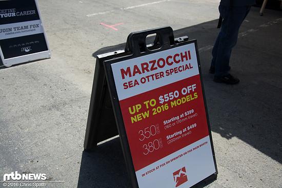 Nach der Marzocchi Übernahme...