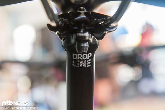 Drop Line: 31,6 mm Durchmesser mit 100, 125 oder 150 mm Hub