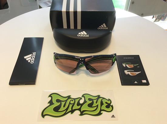 Adidas Evil Eye Halfrim Pro S mit Gleitsichtgläsern