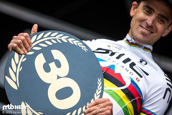 Im letzten Jahr feierte Absalon in Albstadt seinen 30. Weltcupsieg