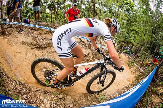 Ein starkes Rennen furh Helen Grobert in Cairns