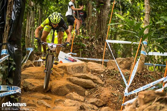 Maxime Marotte wurde in Cairns Zweiter