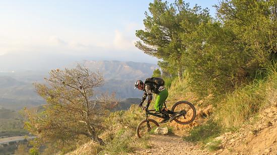 Auf dem Cavemen-Trail bei Alicante