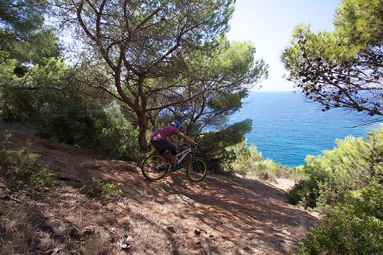 Biken in Süd-Italien