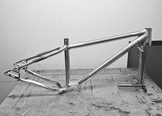 Mitech Tyke P1 Rahmen roh