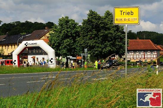 Trieb - An diesem Wochenende zur Radstadt ernannt