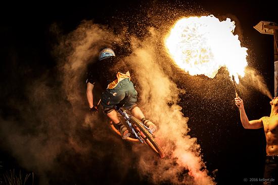Bikepark Trippstadt Nightsession 2016