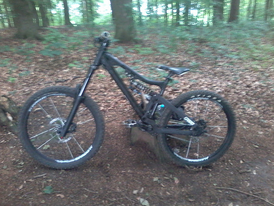 Bergamont Big Air 6.9 Custom Aufbau trail