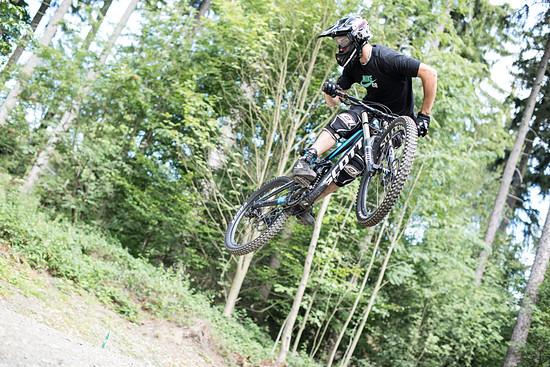 Whip an der Jump Line in Schöneck.