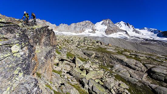 die Rases vorm Höchsten des Aosta-Gebietes