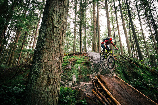 Auf steilen Strecken und beim harten Anbremsen...