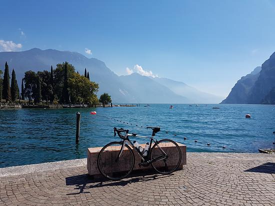 Simplon Kiaro am Lago di Garda nach 4 Tagen Transalp