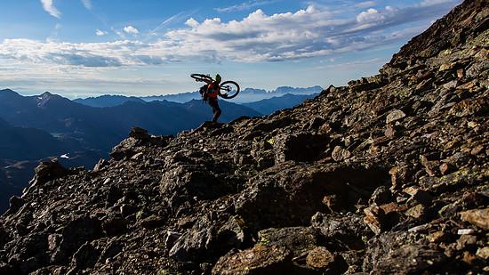 Dolomiten-Gipfelkette
