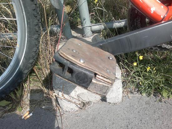Pedal reparieren