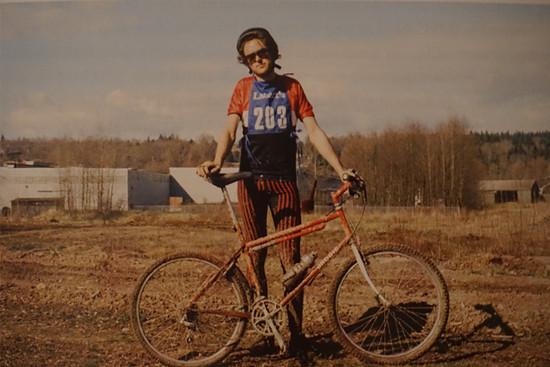 Paul Brodie, ca. 1987 - © Brodie