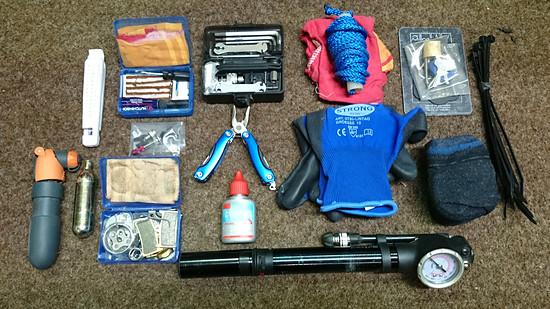 Werkzeug/Ersatzteile Tandem