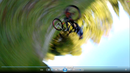 front flip one hand van BIKE