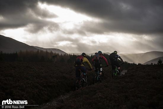 Die Landschaft in den Highlands ist einfach unfassbar