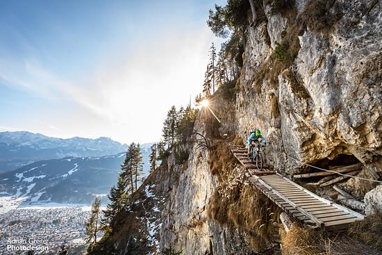 ...hoch über Garmisch...