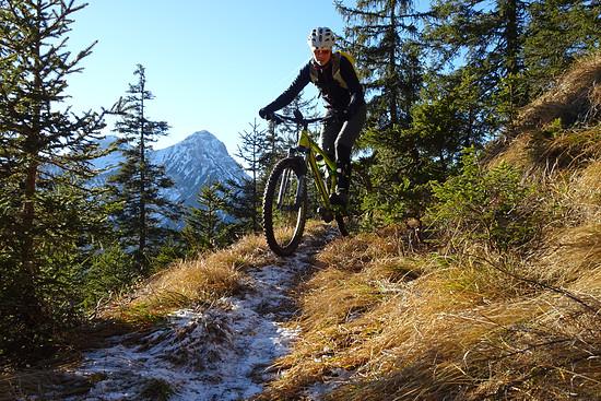 Wintertour in den Ammergauer Alpen