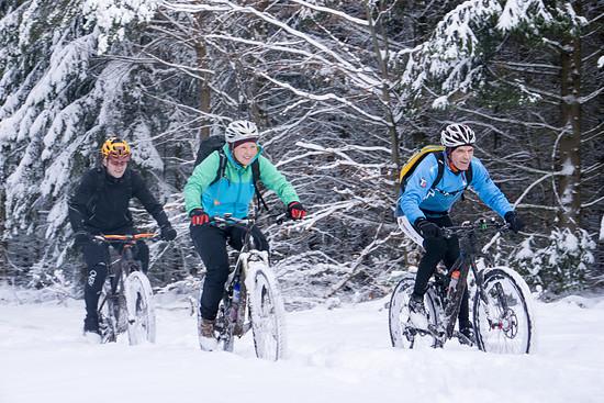 TT im Schnee