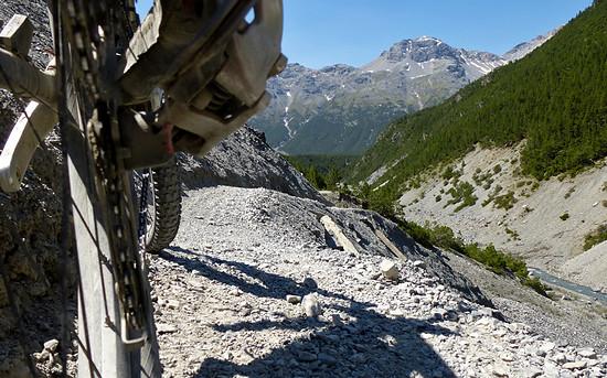 Trail nachm Val Mora