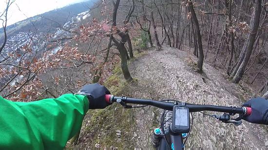 Downhill Drachenrücken, Trails Horchheimer Höhe und Lichter Kopf, Canyon Spectral AL 7.9