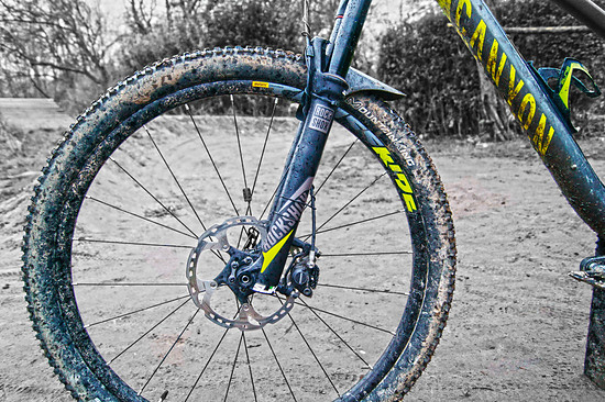 Canyon Nerve Al 7.0 / Rock Shox Revelation