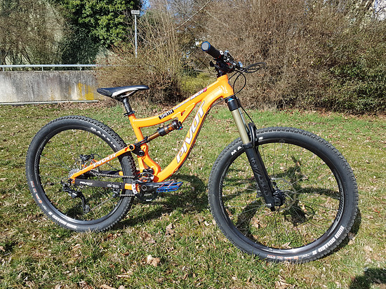 PIVOT MACH 6 ALU 2017 Enduro-Trial-Bike