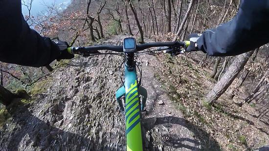 Drachenrücken-Trail, Canyon Dude 9.0 CF Unlimited