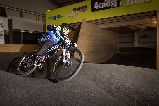 Der schnelle U17-Fahrer Fabian von Allmen ist sonst eher auf dem BMX-Rad anzutreffen. In dieser Saison will er aber auch bei einigen 4Cross und Dualrennen angreifen
