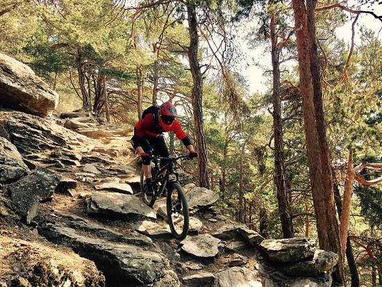 Tschilli trail im Vinschgau