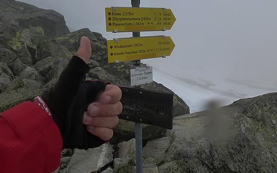am Krimmler Tauern Pass