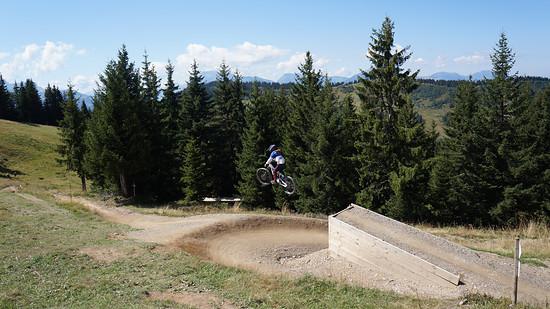 8 years old, Les Gets bikepark