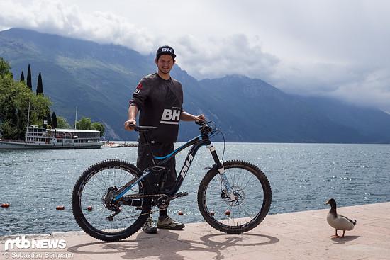 Tobias Woggon mit seinem BH Bikes Lynx 6