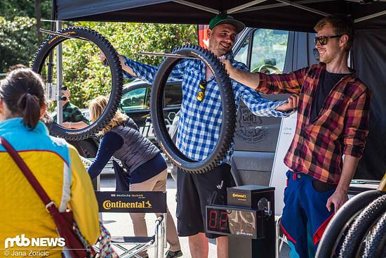 Schummel-Tricks beim Continental Reifenhalten-Contest