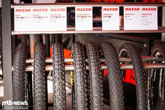 Neue Reifengrößen von Maxxis.