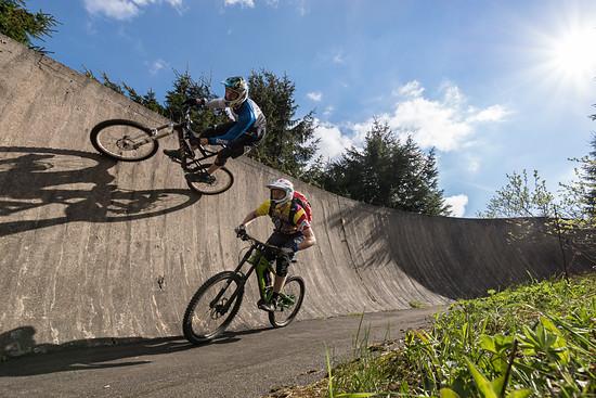 Dual Slalom am Fichtelberg
