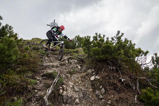 Bike Bergsteigen in Garmisch
