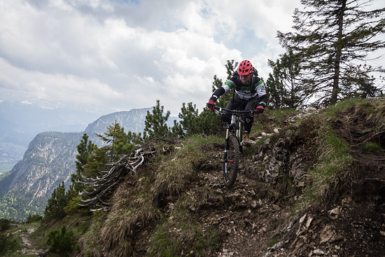 Bike Bergsteigen in Garmisch