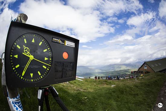 Die Uhr tickte heute im schottischen Fort William