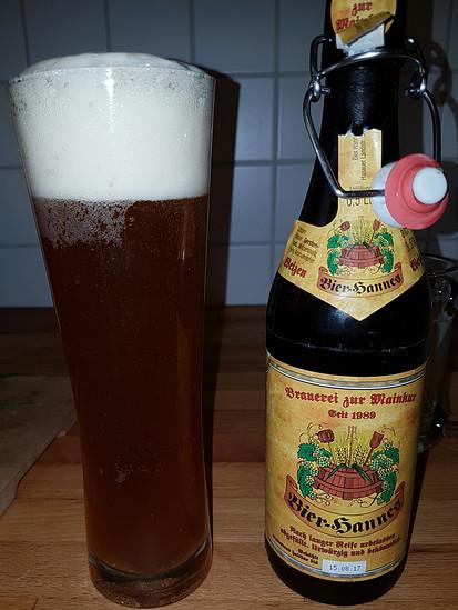 Bier-Hannes Weizen