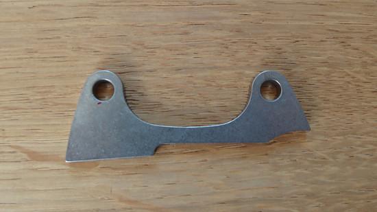 003 Paragon BK0006 Titanium ISO Caliper Mount
