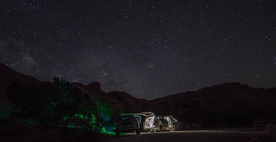 Sternenhimmel Sandflats