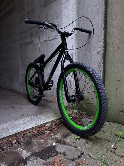Ns bikes.  Neu gelackt!