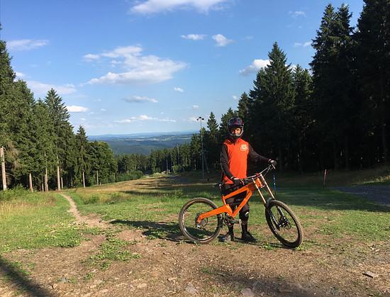 Erste Runde mit dem 322 in Steinach