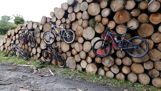 Cooler Bikeständer
