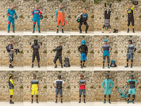 Die komplette Leatt 2018 Bekleidungskollektion