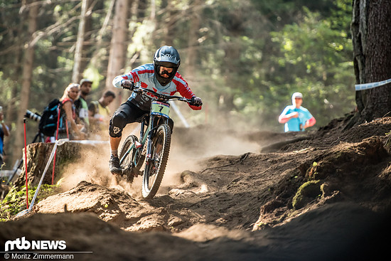 Moritz Ribarich erreichte einen starken 4. Platz